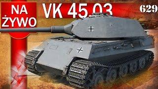 vk 45 03 ciężki bez pancerza bitwa world of tanks