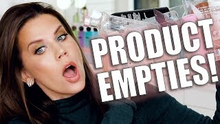 PRODUCT EMPTIES | What I