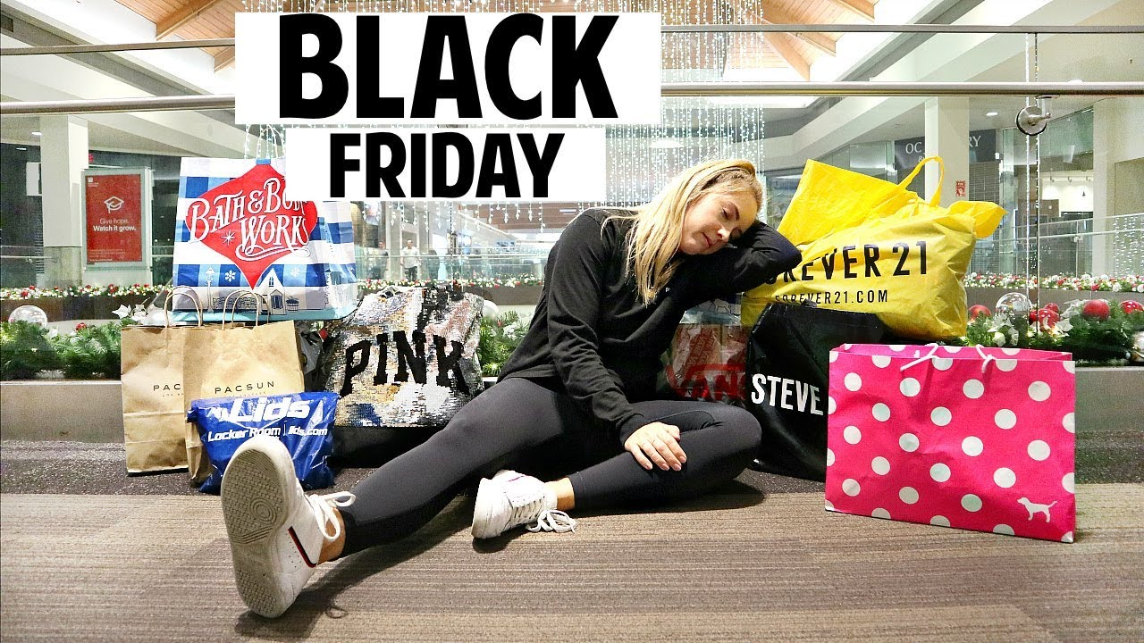 Black Friday Shopping Haul Huge Surprise Forever21 Victoria Secret Pacsun And More