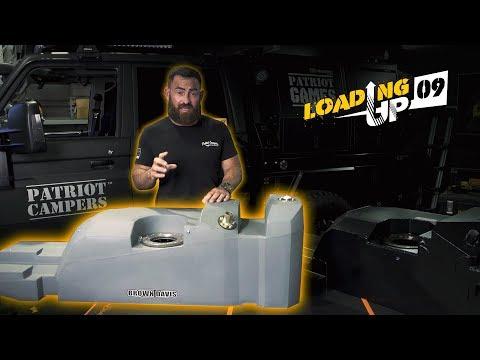 Steel Vs Plastic Comparison - Long Range Fuel Tanks - Patriot Games - Loading Up 9