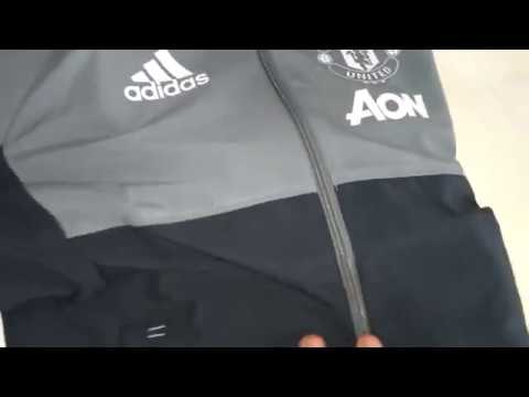 Manchester United Adidas Originals Jacket Blue