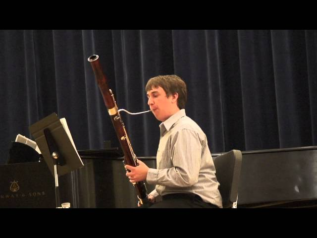Kyle Olsen, 2012 OMEA State Solo Contest, Bassoon