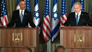 President Obama and Prime Minister Netanyahu Hold a Press Conference  (white house)