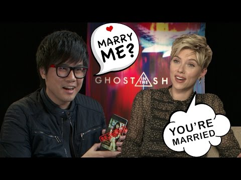 The ULTIMATE Pick UP Line Fail - Ghost In The Shell Interview