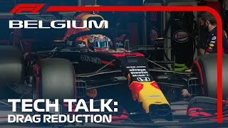 Why Is Drag Reduction So Important At Spa? | Tech Talk | 2020 Belgian Grand Prix