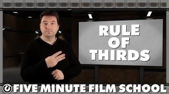 Rule of Thirds - Five Minute Film School