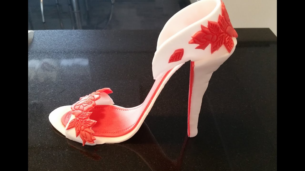 How To Make A High Heel Shoe Cake