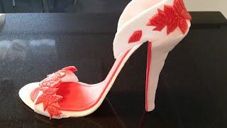Fondant Schuh  high heel /  fondant shoe
