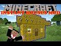 DES MAISONS LUCKY BLOCK !! - INSTANT HOUSES MOD Minecraft [FR] [HD]