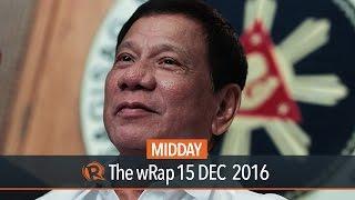 Duterte among
