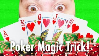 How to Win at Poker! (MAGIC CARD TRICK)