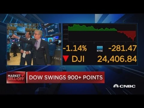 Dow tumbles nearly 900 points, bond yields slide on fears ...