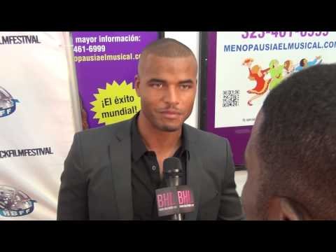 BHL  with The Young & Restless actor Redric Williams at HBFF 2013