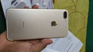 Gambar cover Umboxing IPhone 7 plus 128 dari Ps store jakarta