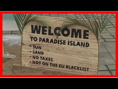 Latest News - The tax haven blacklist presstv-eus branded a whitewash