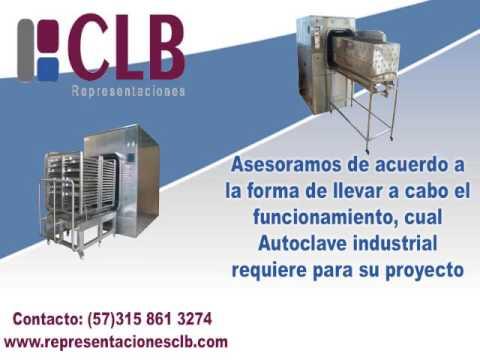 Le asesoramos en la compra de su autoclave RepresentacionCLB0717001v
