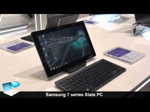 Samsung 7 series Slate PC (tablet Windows 7)