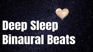 Fall Asleep Faster  Insomia Healing Music  Deep Sleep Binaural Beats