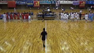 7日 ハンドボール男子 あづま総合体育館 Aコート 法政二×佐賀清和 3回戦 1