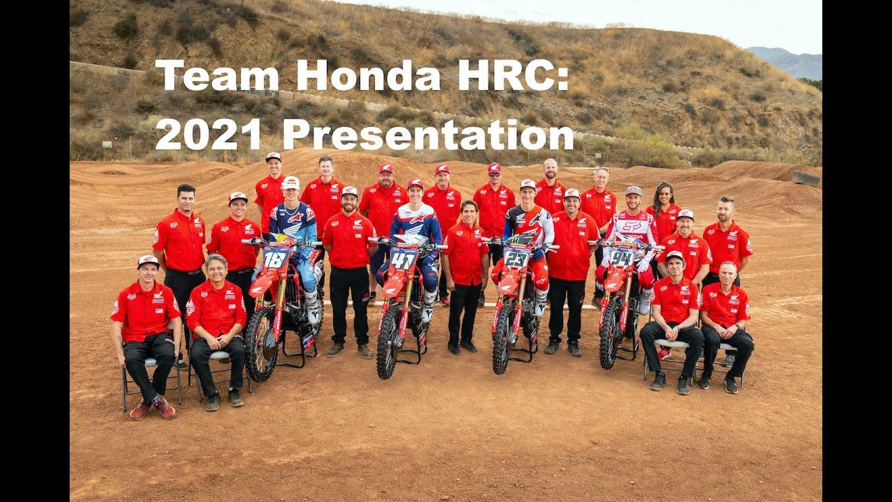 Team Honda HRC 2021 Presentation