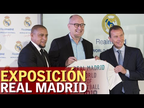 El Madrid presentó la exposición 'Real Madrid World of Football' | Diario AS