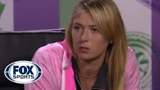 Maria Sharapova Fires Back at Serena Williams