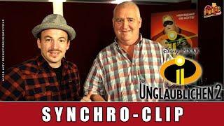 Die Unglaublichen 2 - Synchro-Clip I Markus Maria Profitlich I Tom von der Isar