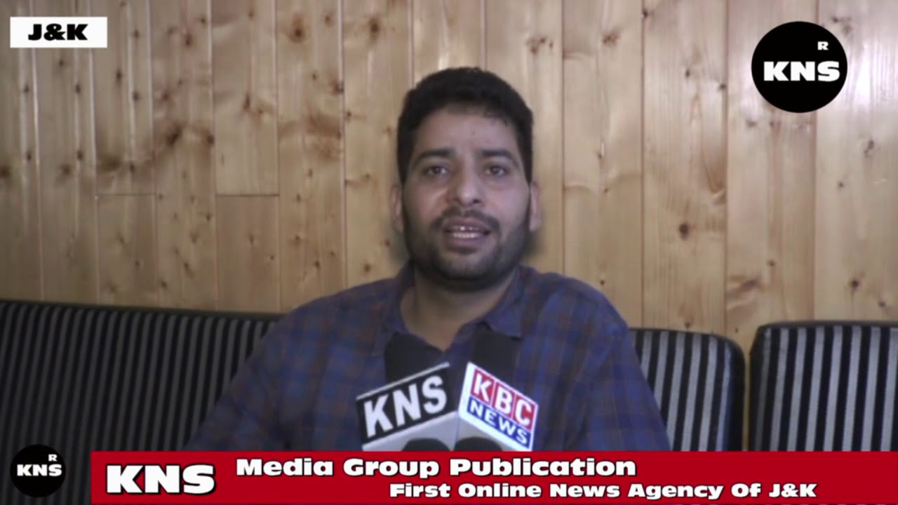 BJP Leader Aijaz Ahmad Welcomed The New Domicile Rules - YouTube