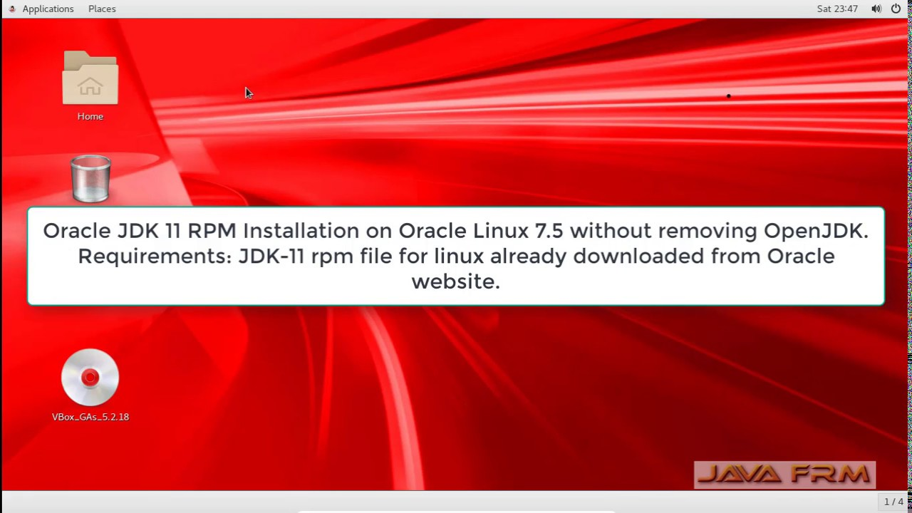 Oracle JDK 11 RPM Installation on Oracle Linux 7 5 without removing OpenJDK