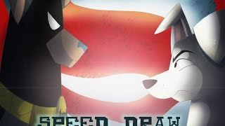 Speed Draw | Bathound v Superdog | Texacity
