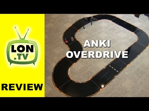 Anki Overdrive Review - Smartphone Controlled Autonomous Slot Car Racing Game