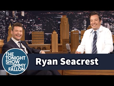 Ryan Seacrest Dresses Jimmy for the Rio 2016 Olympics