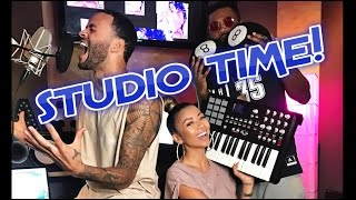 I HATE YOU SO MUCH! BEHIND THE SCENES OF MY SKIT W/ DON BENJAMIN AND SOUNDZ | Liane V