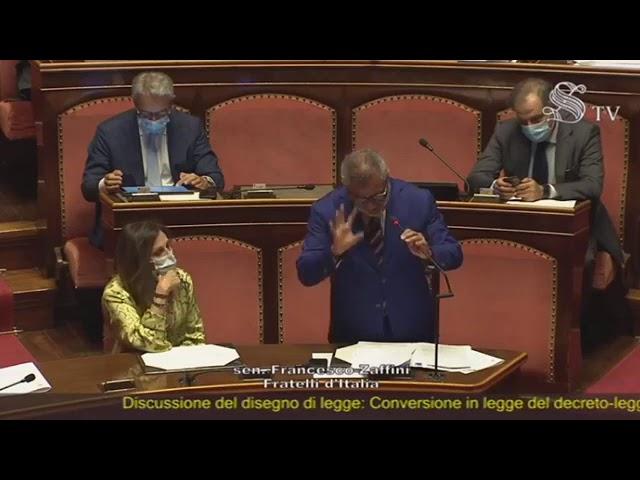 FdI Parlamento - La dichiarazione di voto del Sen. Zaffini sulla legge elettorale regionale