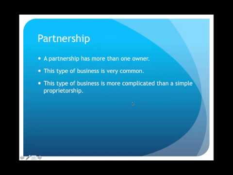 Business Organization Lecture Part 1