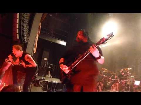 Fear Factory - Pisschrist - Belgium 2015 Vooruit Gent