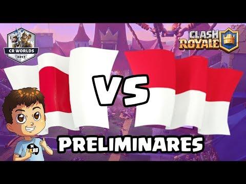 JAPON vs INDONESIA |  ELIMINATORIAS CR WORLDS | KmanuS88 | Clash Royale