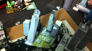 WTC, Freedom Tower and Trump world trade center papercraft