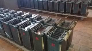 Помещение аккумуляторных батарей на подстанции