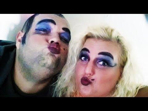 Lady Gaga makeup tutorial by Balů!!! Jak (ne)vypadat jak laciná ku*va!