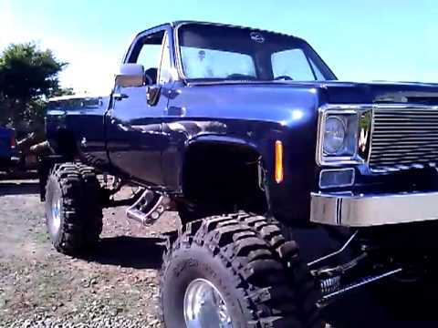 Lifted 1977 Chevy Youtube
