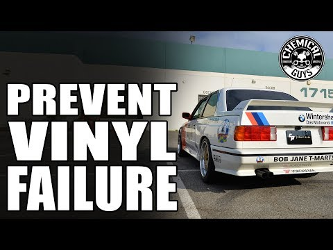 How To Prevent Vinyl Peeling and Fading? | 1990 BMW M3 | Chemical Guys Car Care