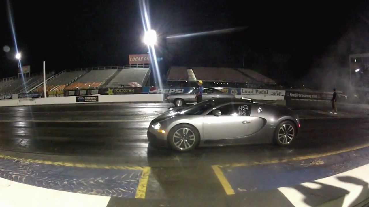 bugatti veyron 1/4 mile - youtube