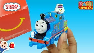2019 McDonald's Thomas and Friends toys Happy Meal Toys Unboxing   THOMAS