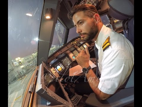 My Life As an Airline pilot @PilotAmireh