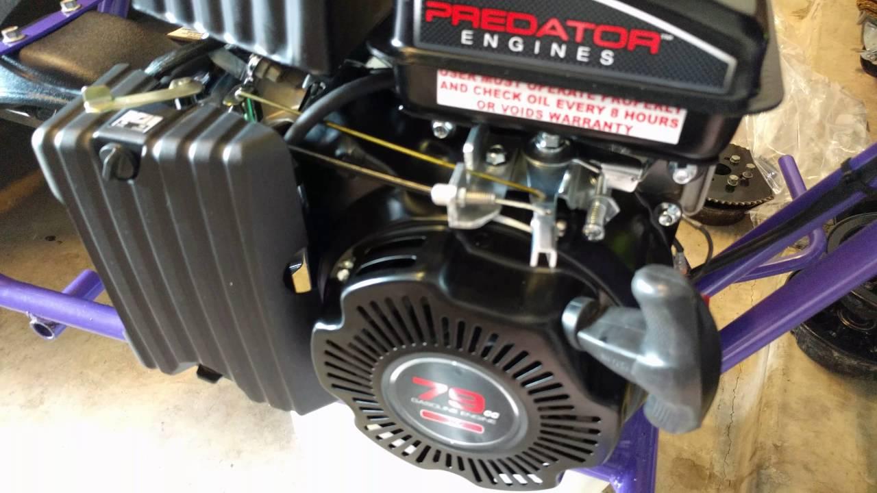 79cc Predator Engine Minibike Throttle Linkage