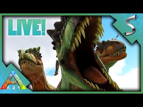 ALLOSAURUS TAMING! Vanilla with Sprinkles - Ark: Survival Evolved