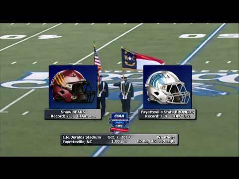 FSU Broncos Football vs. Shaw University