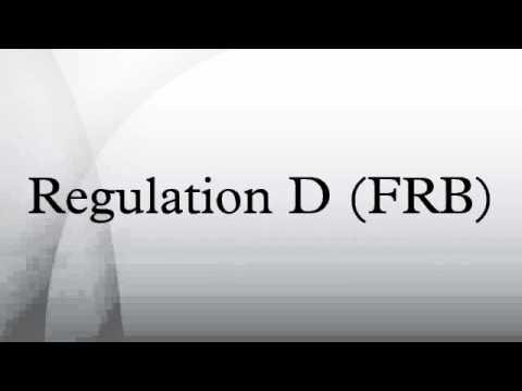 Regulation D (FRB)