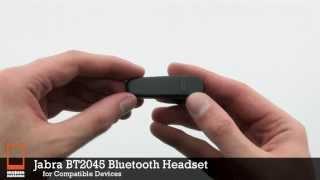 Jabra BT2045 Bluetooth Headset